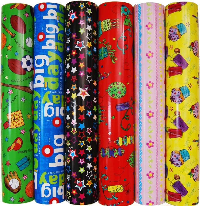 Wrapping Paper - Counter Rolls