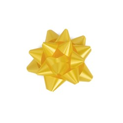 Mini Star Bows - 5cm - Yellow