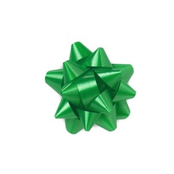 Mini Star Bows - 5cm - Emerald