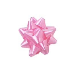 Mini Star Bows - 5cm - Light Pink
