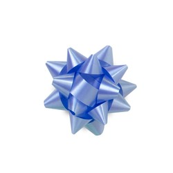 Mini Star Bows - 5cm - Light Blue