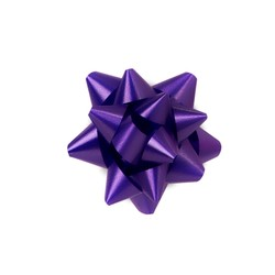 Mini Star Bows - 5cm - Violet Purple