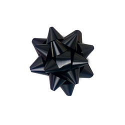 Mini Star Bows - 5cm - Black