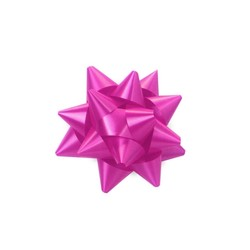 Mini Star Bows - 5cm - Hot Pink