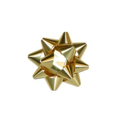 Mini Star Bows - 5cm - Metallic Gold