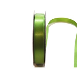 Satin Ribbon - Woven Edge -15mm x 30m - Moss