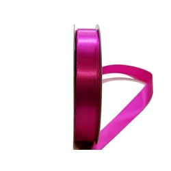 Satin Ribbon - Woven Edge -15mm x 30m - Rosebloom
