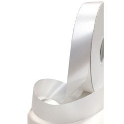 Florist Tear Ribbon - 18mm x 91M - White