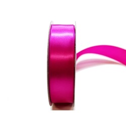 Satin Ribbon - Woven Edge -25mm x 30m - Rosebloom