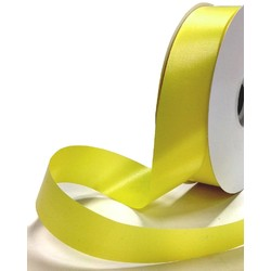 Florist Tear Ribbon - 30mm x 91m - Lemon