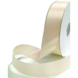 Florist Tear Ribbon - 30mm x 91m - Cream