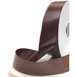 Florist Tear Ribbon - 30mm x 91m - Chocolate Brown