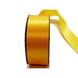 Water Repellent Satin Ribbon - 38mm x 45m - Gold