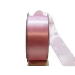 Water Repellent Satin Ribbon - 38mm x 45m - Light Pink