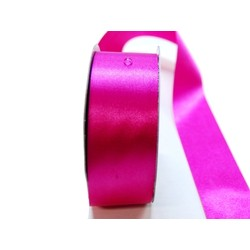 Water Repellent Satin Ribbon - 38mm x 45m - Fuchsia Hot Pink