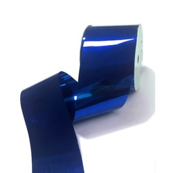 Metallic PVC Ribbon - 50mm x 30M - Blue