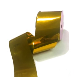 Metallic PVC Ribbon - 50mm x 30M - Gold