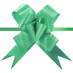Pull String Butterfly Bows - Emerald