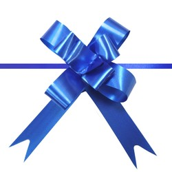 Pull String Butterfly Bows -  Mini - Royal Blue