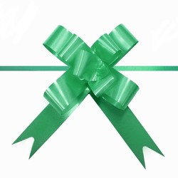 Pull String Butterfly Bows -  Mini - Emerald