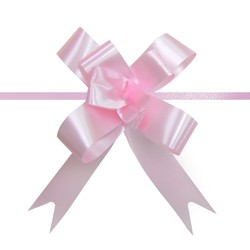 Pull String Butterfly Bows -  Mini - Light Pink