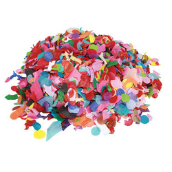 Confetti Tissue - Assorted Mix shapes and Colours - 1 KG