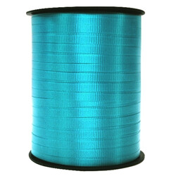Crimped Curling Ribbon 5mm x 457m - Turquoise