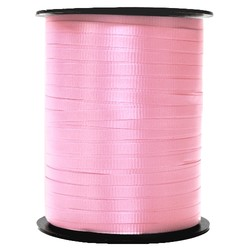 Crimped Curling Ribbon 5mm x 457m - Light Pink
