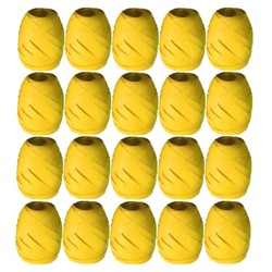 Curling Ribbon -10M Roll - Matt Yellow
