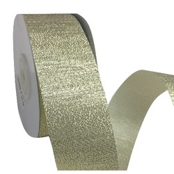 Gold Metallic Ribbon -38mm x 25M
