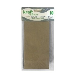 Kraft Treat Bags - 10pcs - Brown (Without Handles)