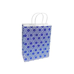 Kraft Bags - Medium - Moroccan - Blue