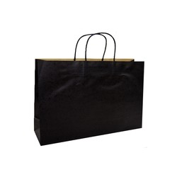 Kraft Bags - Medium Boutique - Black