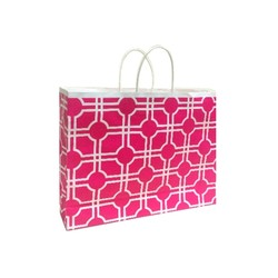 Kraft Bags - Boutique - Moroccan - Pink