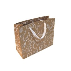 Kraft Bags - Merry Christmas - Micro Boutique - Brown