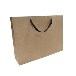 Kraft Bags - Premium Kraft Brown Medium Boutique Gift Bag