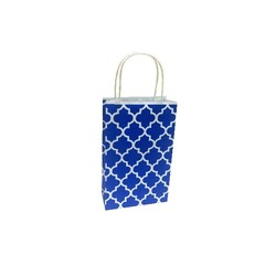 Kraft Bags - Small - Moroccan - Blue