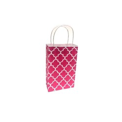 Kraft Bags - Small - Moroccan - Pink