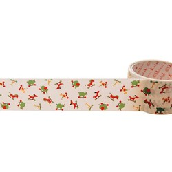 50mm x 15m - Decorative Tape - Colourful March