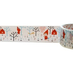 50mm x 15m - Decorative Tape - Cute Red Hood