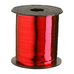 Curling Ribbon - 5mm x 457m - Metallic Red