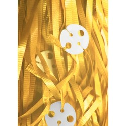 50pk Curling Ribbon & Seals - Yellow