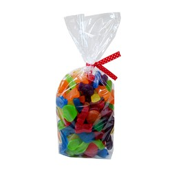 Cello Loot Lolly Bags - 24pcs - Clear