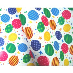 Wrapping Paper - 500mm x 60M - Balloons
