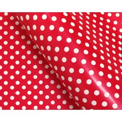 Wrapping Paper - 500mm x 60M - Red Polka Dots