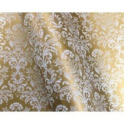 Wrapping Paper - 500mm x 60M - Gold Florentine