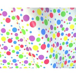 Wrapping Paper - 500mm x 60M - Multi Spots
