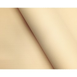 Wrapping Paper - 500mm x 60M - Natural Stripes