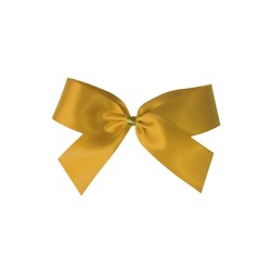 Satin Bow - 7cm - Gold - 100pk