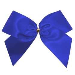 Satin Bow - 12cm - Royal Blue - 100pk
